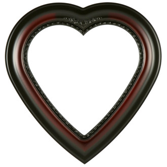 Boston Heart Frame #457 - Rosewood