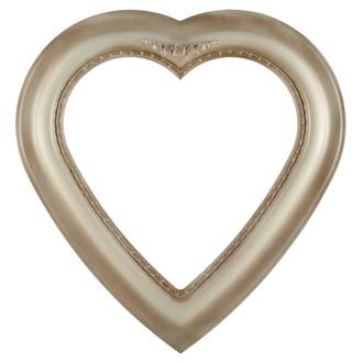 Boston Heart Frame #457 - Taupe