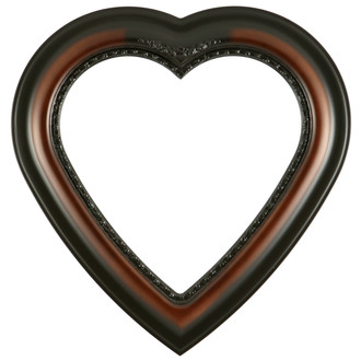 Boston Heart Frame #457 - Walnut