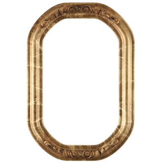 Florence Octagon Frame #461 - Champagne Gold