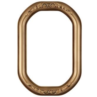 Florence Octagon Frame #461 - Desert Gold