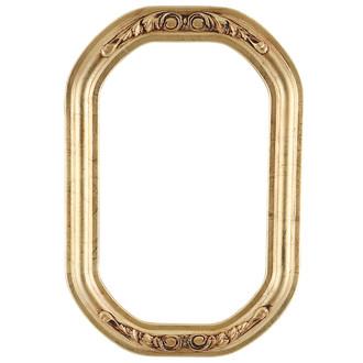 Florence Octagon Frame #461 - Gold Leaf