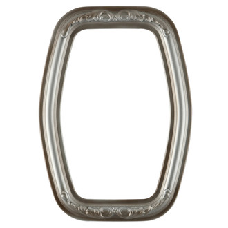Florence Hexagon Frame #461 - Silver Shade