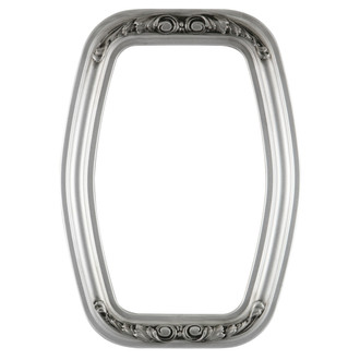 Florence Hexagon Frame #461 - Silver Spray