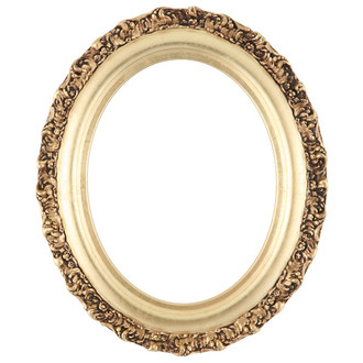 Venice Oval Frame # 454 - Gold Leaf