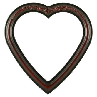 Florence Heart Frame #461 - Vintage Cherry