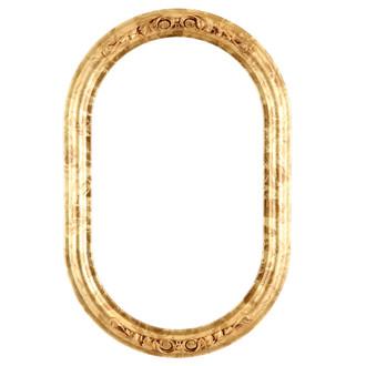 Florence Oblong Frame #461 - Champagne Gold