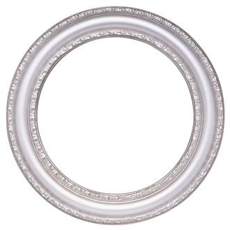 Dorset Round Frame #462 - Silver Shade
