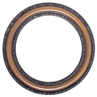 Dorset Round Frame #462 - Walnut