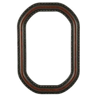 Dorset Octagon Frame #462 - Vintage Walnut