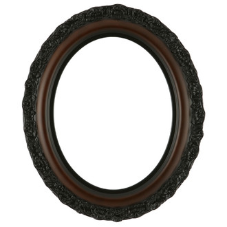 Venice Oval Frame # 454 - Rosewood