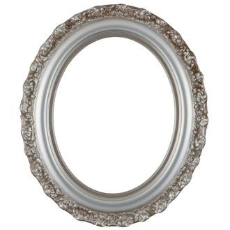 Venice Oval Frame # 454 - Silver Shade