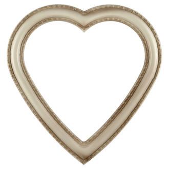 Dorset Heart Frame #462 - Taupe