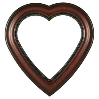 Heritage Heart Frame #458 - Vintage Cherry