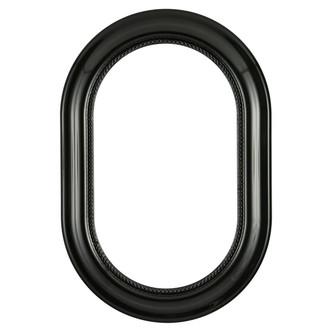 Heritage Oblong Frame #458 - Gloss Black