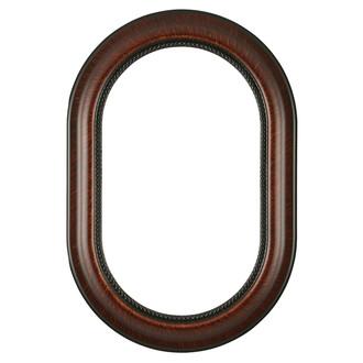 Heritage Oblong Frame #458 - Vintage Walnut
