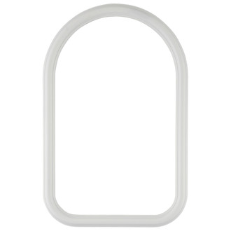 Saratoga Cathedral Frame #550 - Linen White