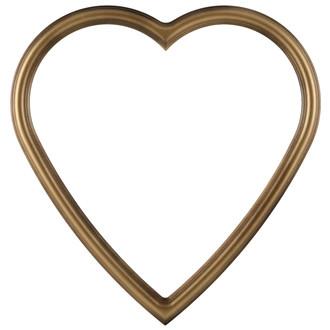 Saratoga Heart Frame #550 - Desert Gold