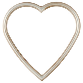 Saratoga Heart Frame #550 - Silver Shade
