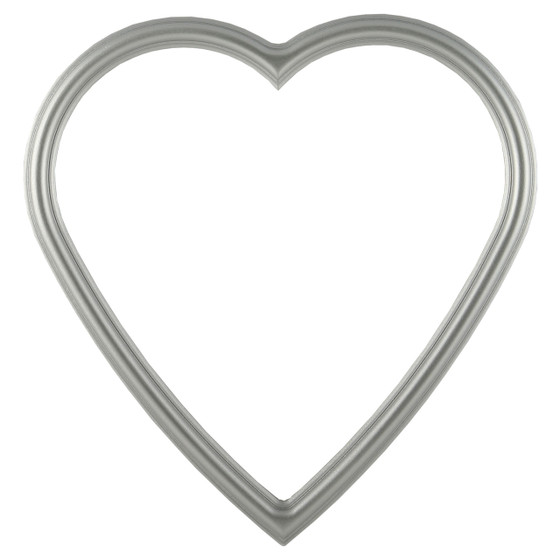 Heart Picture Frame  Simple Wooden Picture Frames  Many Color ...
