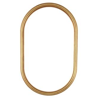 Saratoga Oblong Frame #550 - Gold Leaf