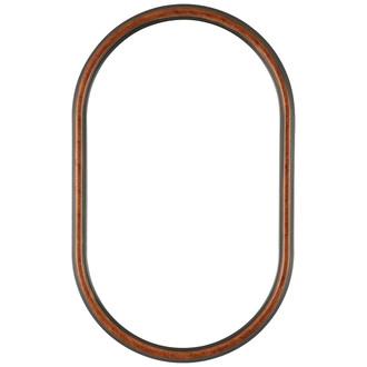 Saratoga Oblong Frame #550 - Vintage Walnut
