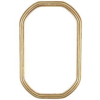 Saratoga Octagon Frame #550 - Gold Leaf