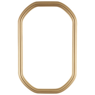 Saratoga Octagon Frame #550 - Gold Spray