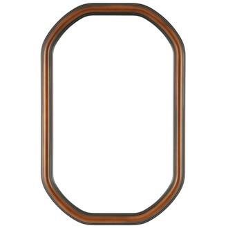 Saratoga Octagon Frame #550 - Walnut