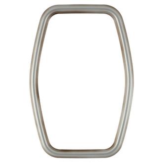 Saratoga Hexagon Frame #550 - Silver Shade