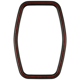 Saratoga Hexagon Frame #550 - Vintage Cherry