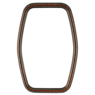 Saratoga Hexagon Frame #550 - Vintage Walnut