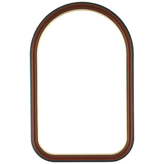 Hamilton Cathedral Frame #551 - Rosewood with Gold Lip