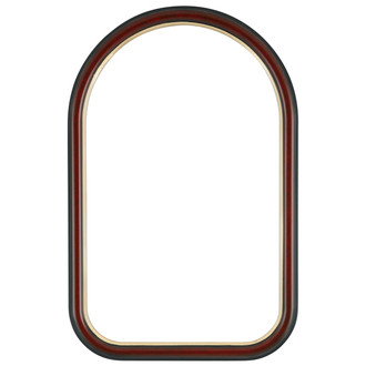 Hamilton Cathedral Frame #551 - Vintage Cherry with Gold Lip