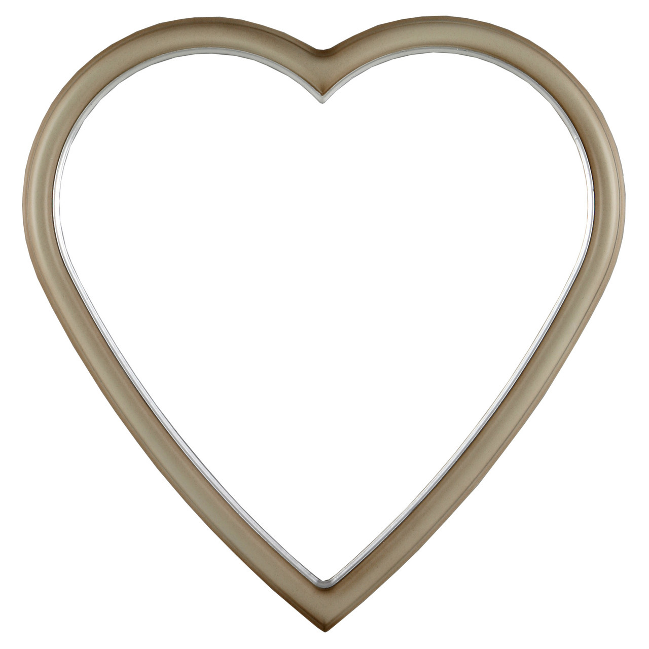 1d130c4a0d8 Heart Picture Frames with Gold Leaf on Lips| Simple Antique Wooden ...