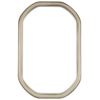 Hamilton Octagon Frame #551 - Taupe with Silver Lip