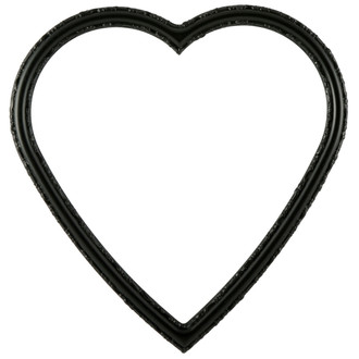 Virginia Heart Frame #553 - Matte Black