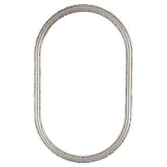 Virginia Oblong Frame #553 - Silver Shade