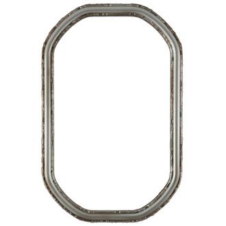 Virginia Octagon Frame #553 - Silver Shade