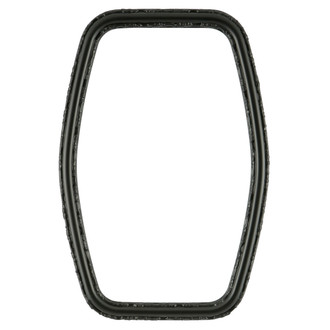 Virginia Hexagon Frame #553 - Matte Black