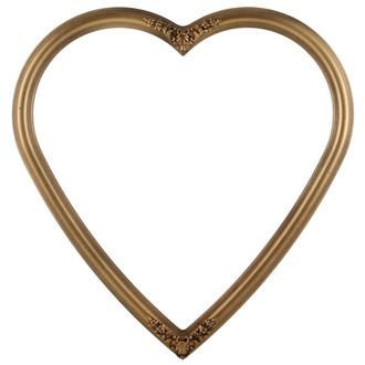 Contessa Heart Frame #554 - Desert Gold