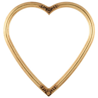 Contessa Heart Frame #554 - Gold Leaf
