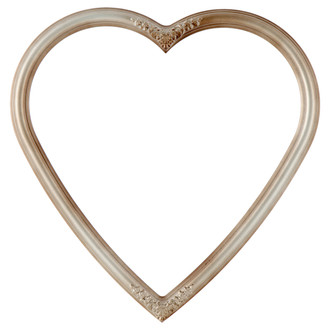 Contessa Heart Frame #554 - Silver Shade