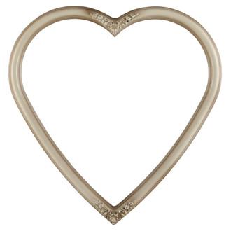 Contessa Heart Frame #554 - Taupe