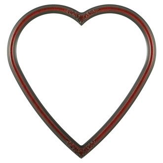 Contessa Heart Frame #554 - Vintage Cherry