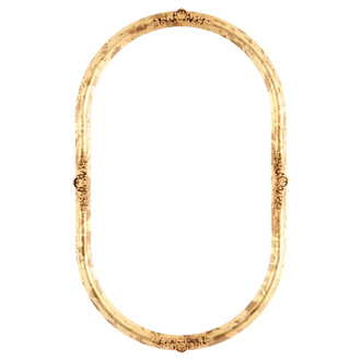 Contessa Oblong Frame #554 - Champagne Gold