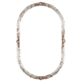 Contessa Oblong Frame #554 - Champagne Silver