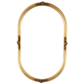 Contessa Oblong Frame #554 - Gold Leaf