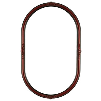 Contessa Oblong Frame #554 - Vintage Cherry