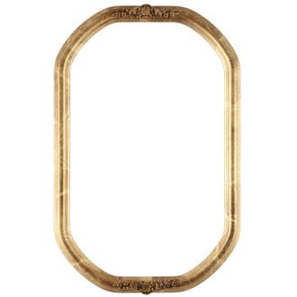Contessa Octagon Frame #554 - Champagne Gold